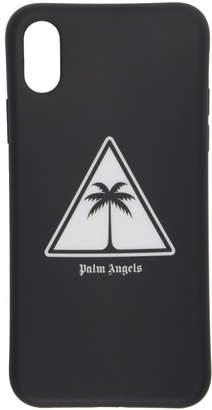 Palm Angels Black Palm Icon iPhone X Case