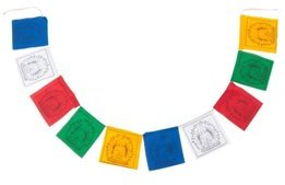 dZi Medicine Buddha Prayer Flag 8132344