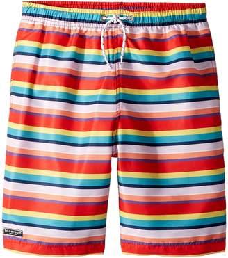 Toobydoo Multi Stripe Swim Shorts Boy's Swimwear