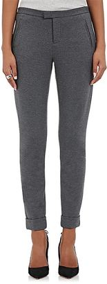ATM Anthony Thomas Melillo Women's Jersey Cuffed Trousers $295 thestylecure.com