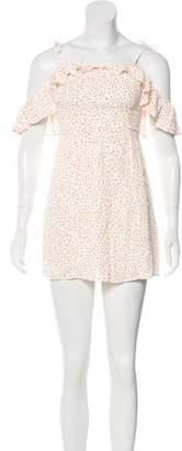 For Love & Lemons Printed Mini Dress w/ Tags