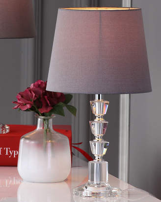 Safavieh Harlow Tiered Crystal Table Lamps, Set of Two
