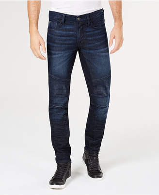GUESS Mens Slim-Fit Tapered Jeans