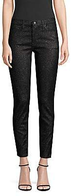 Hudson Jeans Jeans Women's Nico Mid-Rise Sparkle Skinny Jeans