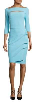 La Petite Robe di Chiara Boni Cutout Ruched Dress $695 thestylecure.com