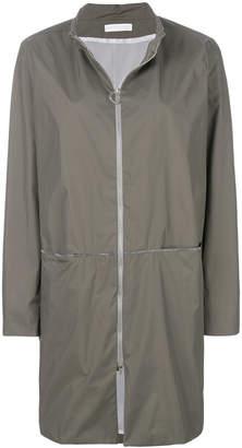 Fabiana Filippi zipped waterproof coat