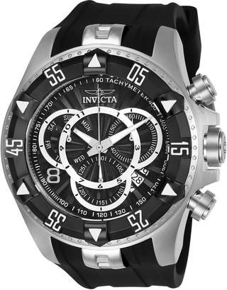 Invicta 24271 Silver-Tone & Black Excursion Watch