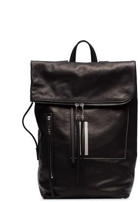 Rick Owens foldover backpack