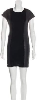 Alice + Olivia Mini Open-Back Dress Black Mini Open-Back Dress