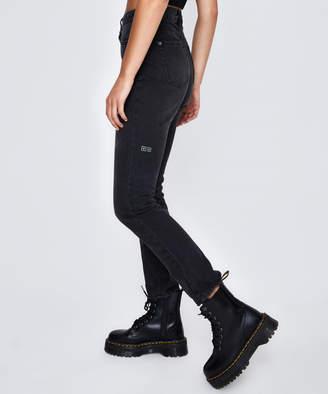 Ksubi Slim Pin Jean Hi Society Black
