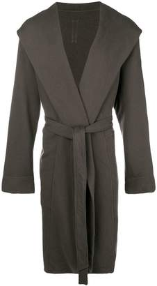 Rick Owens hooded longline cardigan