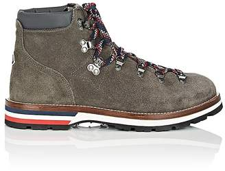 Moncler Men's Peak Suede Hiking Boots