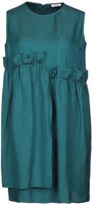 Gold Case Short dresses