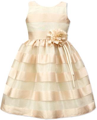 Jayne Copeland Illusion Striped Dress, Big Girls (7-16) $84 thestylecure.com