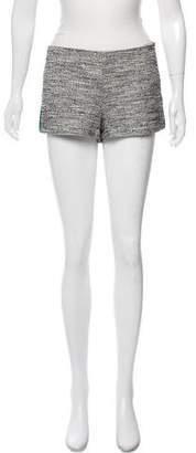Marissa Webb Tweed Mini Shorts