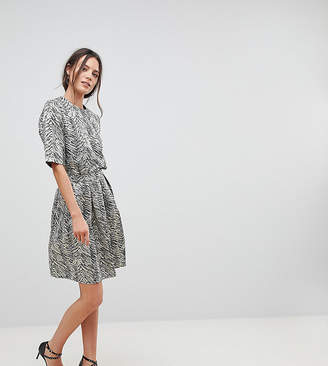 Y.A.S Tall Leaf Jacquard Full Skirt