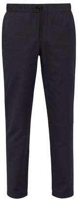 A.P.C. Kaplan Cotton Blend Trousers - Mens - Dark Navy
