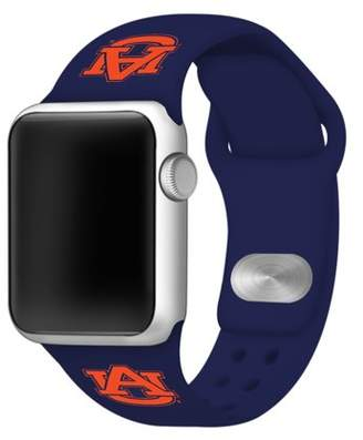 Affinity Bands Auburn Tigers 38mm Silicone Sport Band for Apple Watch - Navy