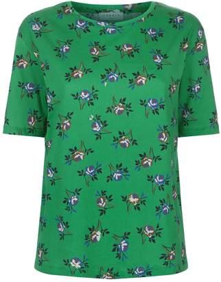 Sandro Floral Cotton T-Shirt
