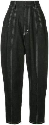 G.V.G.V. contrast stitch trousers