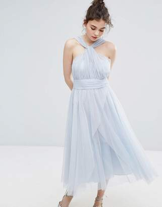 Oasis Premium Tulle Mid Dress