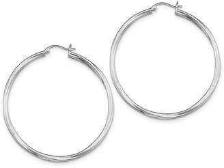 Proenza Schouler Sterling Silver Hoop Earrings - ICE CARATS Set Earring Fine Jewelry Ideal Gifts For Women Gift Set From Heart