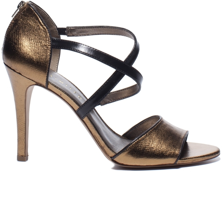 The Limited Cross-Strap Heel