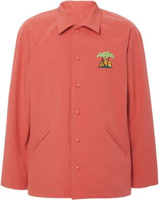 JUST DON Reversible Cotton-Blend Coach's Jacket