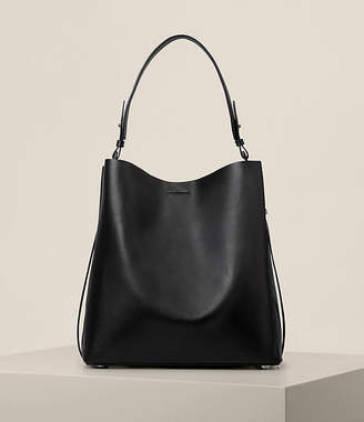 AllSaints Paradise Leather North South Tote