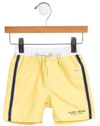 HUGO BOSS Boss by Boys' Drawstring Swim Trunks w/ Tags