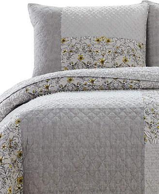 Jessica Simpson Garden 140 Thread Count Cotton Quilt Set