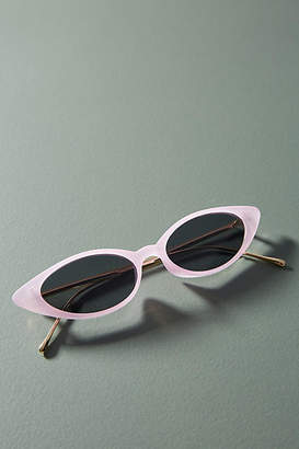 Anthropologie Isla Extreme Cat-Eye Sunglasses