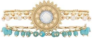 Hipanema Women Stainless Steel Cuff Bracelet - E18MMAGITU