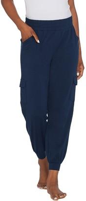 Anybody AnyBody Loungewear Tall Cozy Knit Cargo Jogger Pants