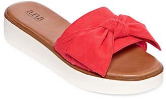 A.N.A Ballard Womens Wedge Sandals