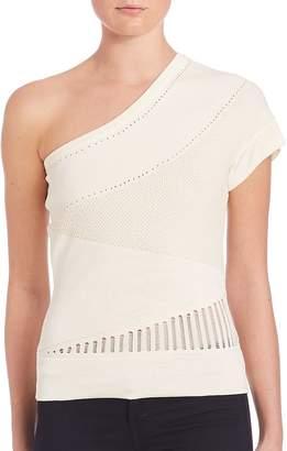 Ohne Titel Women's Knit One-Shoulder Top
