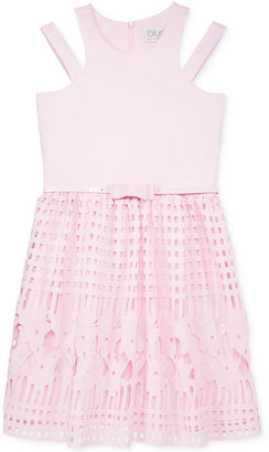 Blush by Us Angels Lace Fit & Flare Dress, Big Girls (7-16) $80 thestylecure.com
