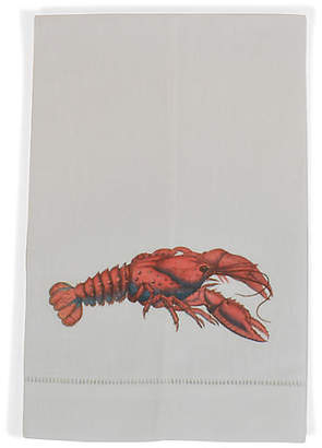 Set of 2 Lobster Guest Towels - White - The French Bee