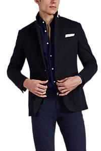 Ralph Lauren Purple Label Men's Hadley Cotton-Blend Jersey Two-Button Sportcoat - Navy