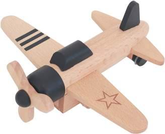 Kukkia Hikouki Wooden Wind-Up Propeller Plane