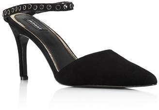 Jaggar Women's Opulent Pointed Toe Studded Pumps