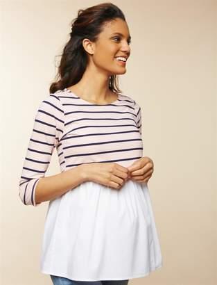 Motherhood Maternity Skirted Maternity Top