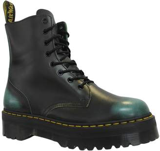 Dr. Martens Womens Jadon 8-Eylet Leather Boots 6 US