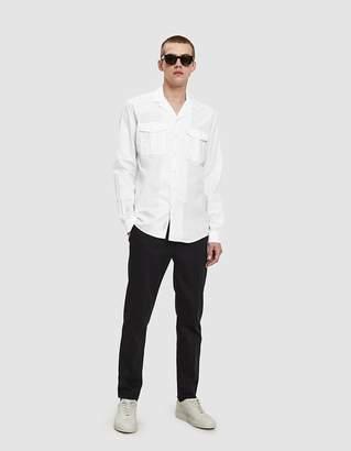Schnayderman's Leisure Notch Poplin One Shirt