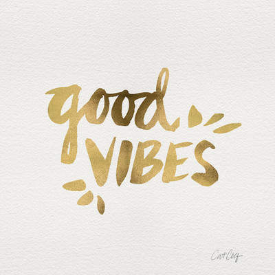 Wayfair Good Vibes Canvas Print