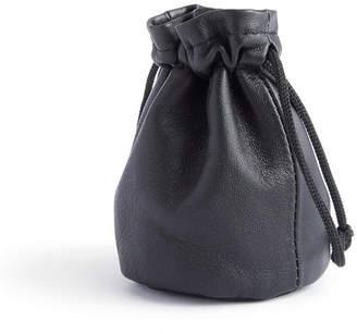 Royce Leather Royce New York Compact Jewelry Drawstring Pouch