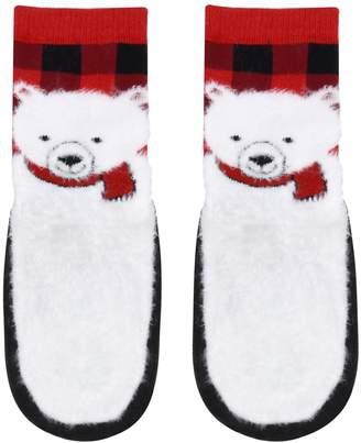 Baby / Toddler Boy Jumping Beans Polar Bear Slipper Socks