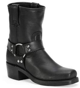 Frye Harness Leather Mid-Calf Boots