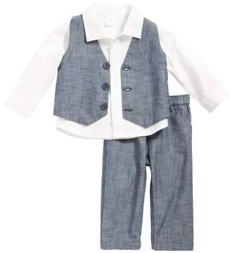 Nordstrom Shirt, Chambray Vest & Pants Set