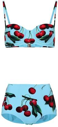 Dolce & Gabbana Exclusive to mytheresa cherry printed bikini